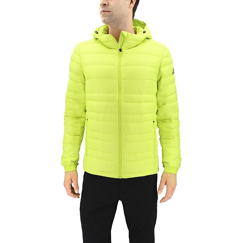adidas outdoor Mens Climawarm Nuvic Jacket XL - Semi Solar Yellow/Black - adidas outdoor Mens Apparel - Apparel & Footwear, Men's Apparel