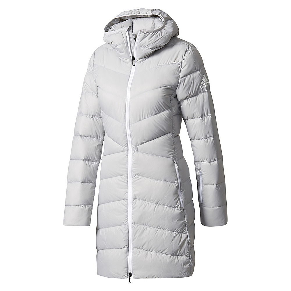 adidas outdoor Womens Climawarm Nuvic Jacket S - Grey Two - adidas outdoor Womens Apparel - Apparel & Footwear, Women's Apparel