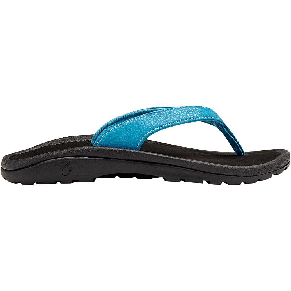 OluKai Girls Kulapa Kai Sandal XS (US Kids) - Marine/Black - OluKai Womens Footwear - Apparel & Footwear, Women's Footwear