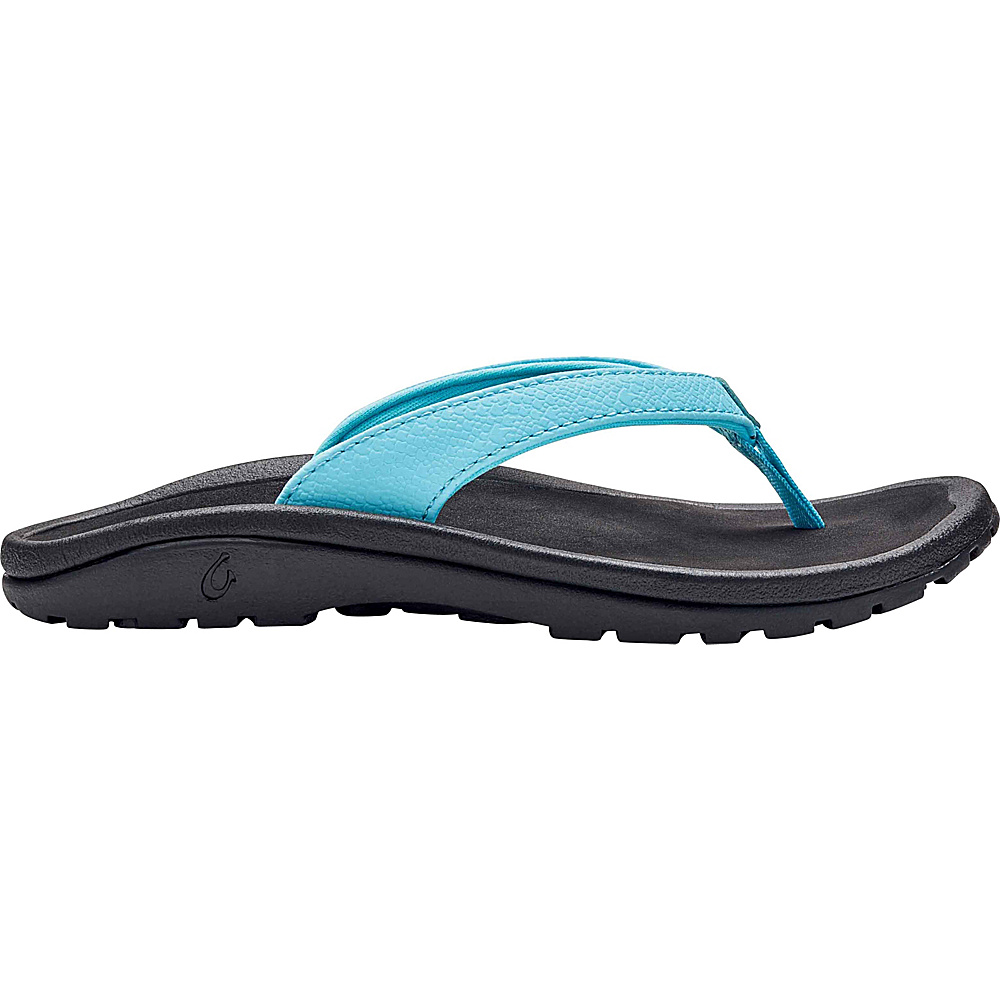 OluKai Girls Kulapa Kai Sandal 9 (US Toddlers) - Cotton Candy/Black - OluKai Womens Footwear - Apparel & Footwear, Women's Footwear