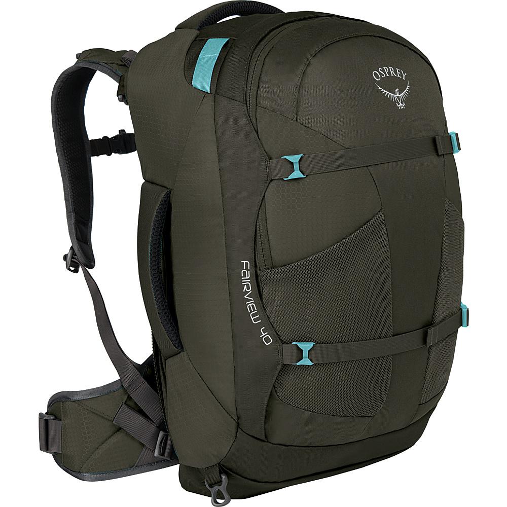 Osprey Womens Fairview 40L Travel Backpack Misty Grey - S/M - Osprey Travel Backpacks - Backpacks, Travel Backpacks