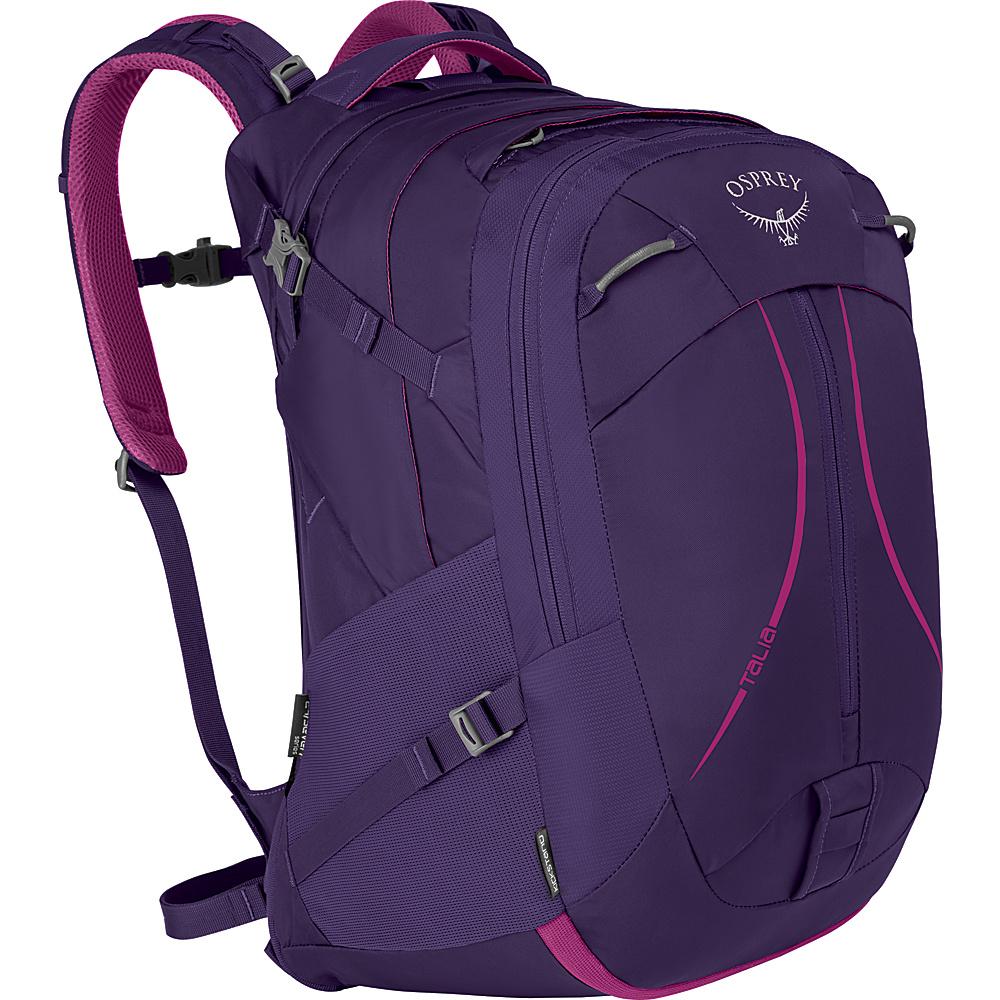 Osprey Womens Talia 30L Laptop Backpack Mariposa Purple - Osprey Laptop Backpacks - Backpacks, Laptop Backpacks