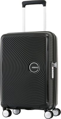 American Tourister Curio 20 inch Hardside Carry-On Spinner Luggage Black - American Tourister Hardside Carry-On