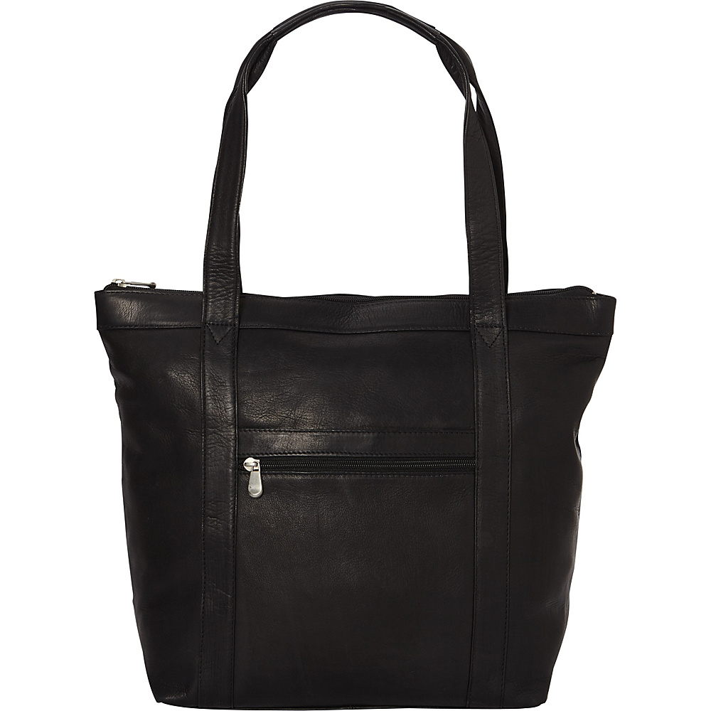 Le Donne Leather Phalicia Tote Black - Le Donne Leather Leather Handbags - Handbags, Leather Handbags