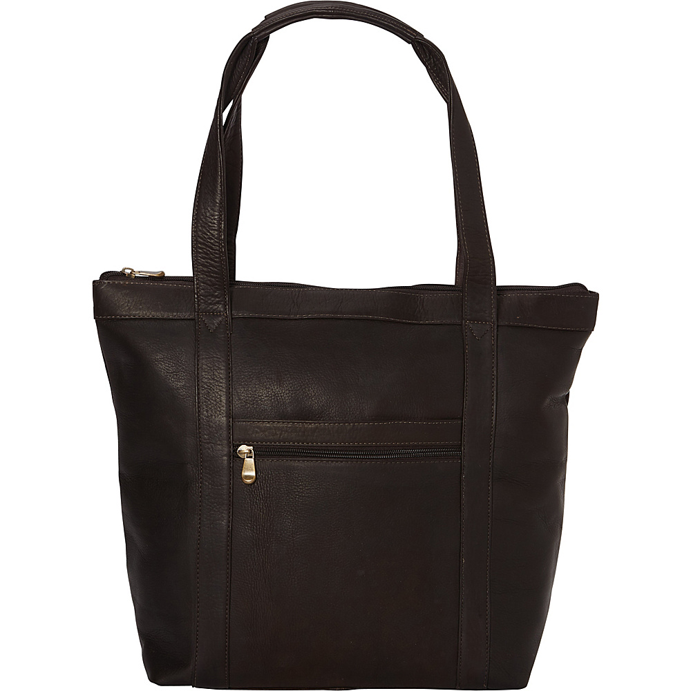Le Donne Leather Phalicia Tote Cafe - Le Donne Leather Leather Handbags - Handbags, Leather Handbags