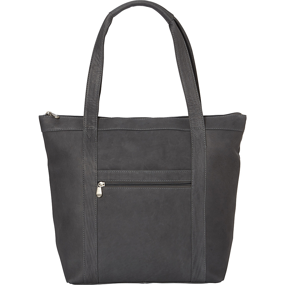 Le Donne Leather Phalicia Tote Gray - Le Donne Leather Leather Handbags - Handbags, Leather Handbags