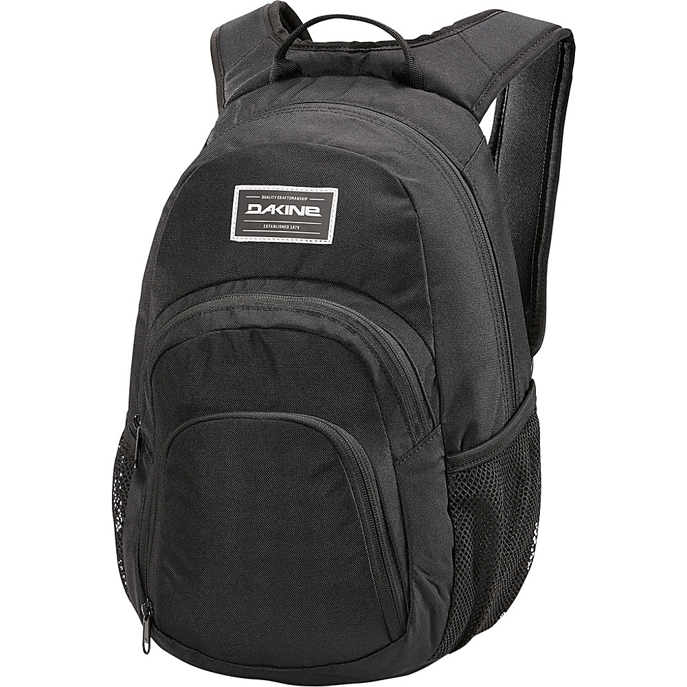DAKINE Campus Mini 18L Backpack Black - DAKINE School & Day Hiking Backpacks - Backpacks, School & Day Hiking Backpacks