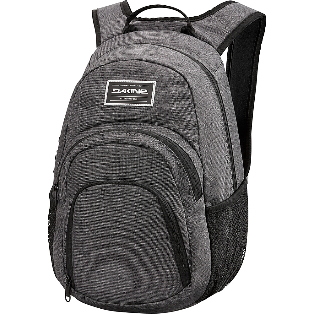 DAKINE Campus Mini 18L Backpack Carbon - DAKINE School & Day Hiking Backpacks - Backpacks, School & Day Hiking Backpacks
