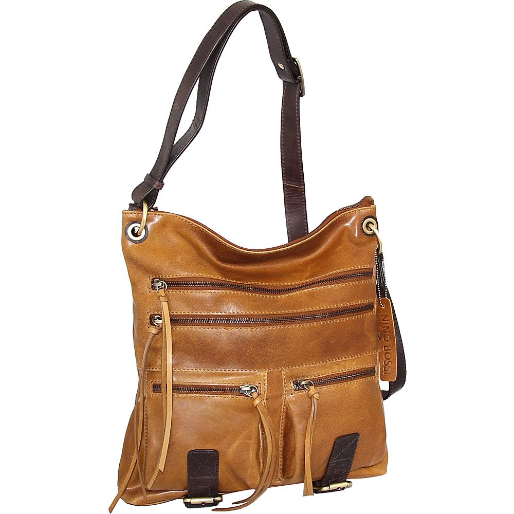 Nino Bossi Caitlin Crossbody Saddle - Nino Bossi Leather Handbags - Handbags, Leather Handbags