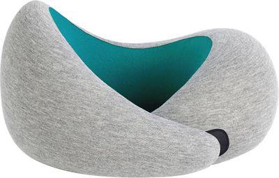 OSTRICH PILLOW Ostrich Go Travel Pillow Grey/Aqua - OSTRICH PILLOW Travel Pillows & Blankets
