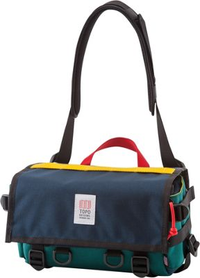 Topo Designs Field Bag Navy/Teal - Topo Designs Messenger Bags