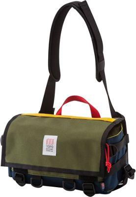 Topo Designs Field Bag Olive/Navy - Topo Designs Messenger Bags