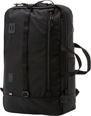 Topo Designs Travel Bag Laptop Backpack Ballistic Black - Topo Designs Travel Backpacks