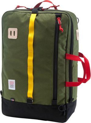 Topo Designs Travel Bag Laptop Backpack Olive/Black - Topo Designs Travel Backpacks
