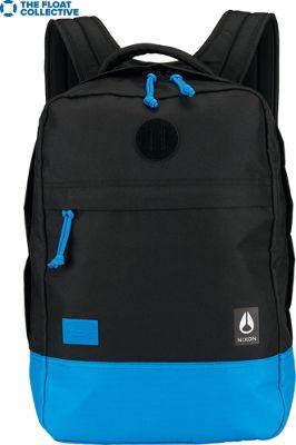 Nixon Beacons Laptop Backpack II Black / Blue / Float - Nixon Laptop Backpacks