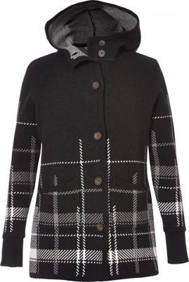 Royal Robbins Womens Sweater Coat Hoody M - Jet Black - Royal Robbins Women's Apparel