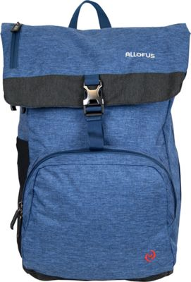 All of Us Cruiser Laptop Backpack Blue - All of Us Business & Laptop Backpacks