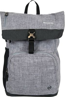All of Us Cruiser Laptop Backpack Heather - All of Us Business & Laptop Backpacks