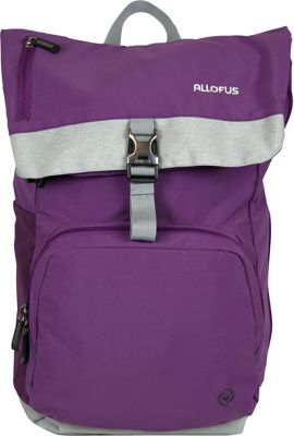 All of Us Cruiser Laptop Backpack Plum - All of Us Business & Laptop Backpacks