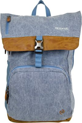 All of Us All of Us Cruiser Laptop Backpack Light Blue - All of Us Business & Laptop Backpacks