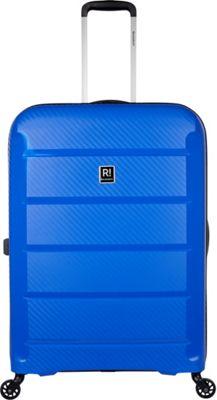 Revelation Tobago 30 inch Lightweight Hardside Checked Spinner Luggage Blue - Revelation Large Rolling Luggage
