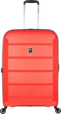 Revelation Tobago 30 inch Lightweight Hardside Checked Spinner Luggage Red - Revelation Large Rolling Luggage