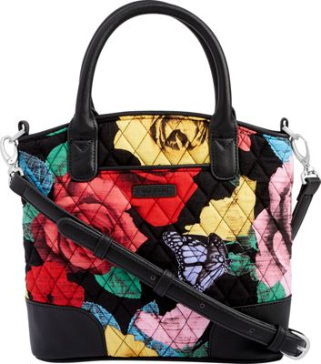 Vera Bradley Day Off Crossbody - Retired Colors Havana Rose - Vera Bradley Fabric Handbags