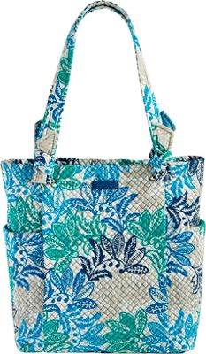 Vera Bradley Hadley Tote - Retired Colors Santiago - Vera Bradley Fabric Handbags