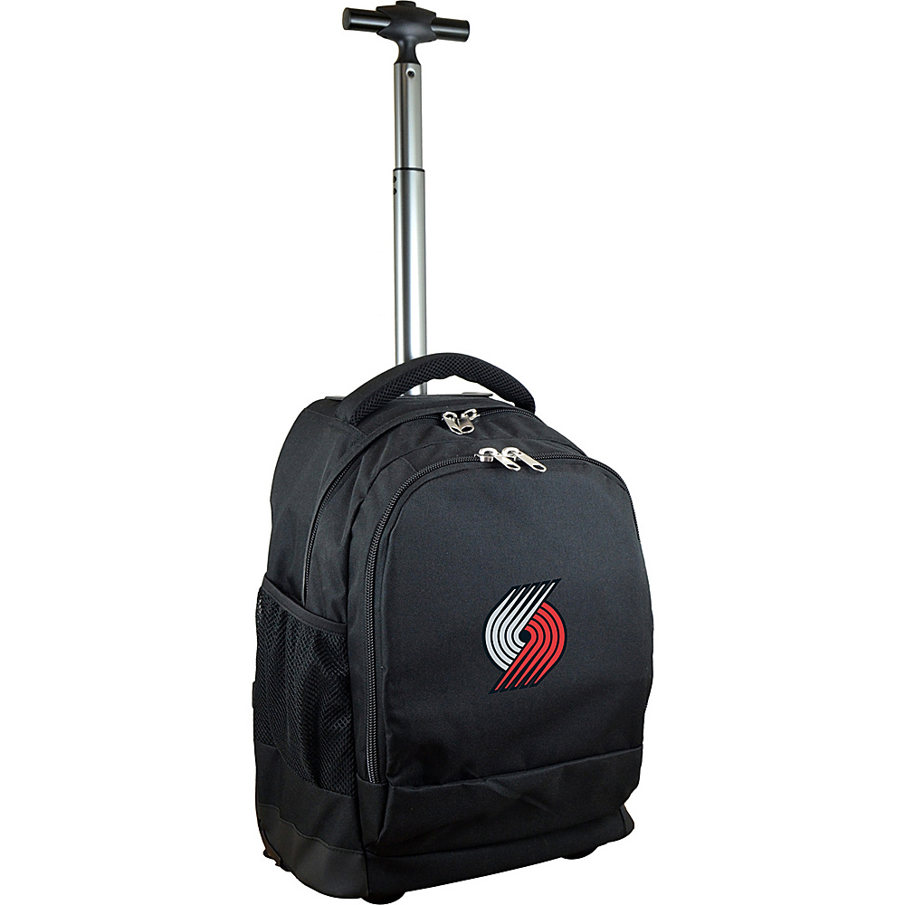 MOJO Denco NBA Premium Laptop Rolling Backpack Portland TrailBlazers - MOJO Denco Rolling Backpacks - Backpacks, Rolling Backpacks
