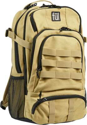 ful Squad Tactical Laptop Backpack Khaki - ful Business & Laptop Backpacks