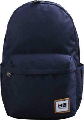 AfterGen Anti-Bully Backpack Classic Blue - AfterGen School & Day Hiking Backpacks