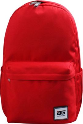 AfterGen Anti-Bully Backpack Classic Red - AfterGen School & Day Hiking Backpacks