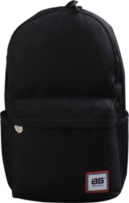 AfterGen Anti-Bully Backpack Classic Black - AfterGen School & Day Hiking Backpacks