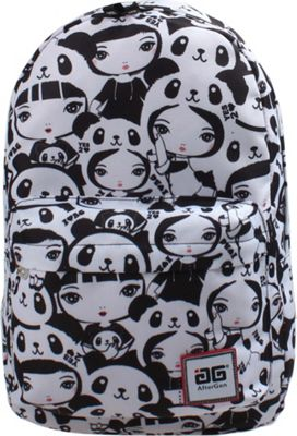 AfterGen Anti-Bully Backpack Panda Girl - AfterGen School & Day Hiking Backpacks