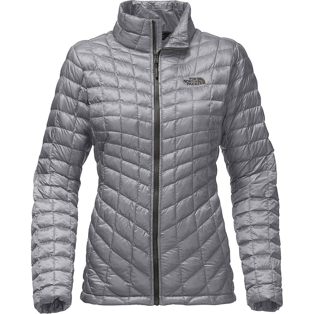The North Face Womens Thermoball Full Zip XS - Mid Grey - The North Face Womens Apparel - Apparel & Footwear, Women's Apparel
