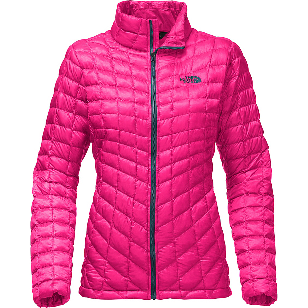 The North Face Womens Thermoball Full Zip XS - Petticoat Pink - The North Face Womens Apparel - Apparel & Footwear, Women's Apparel