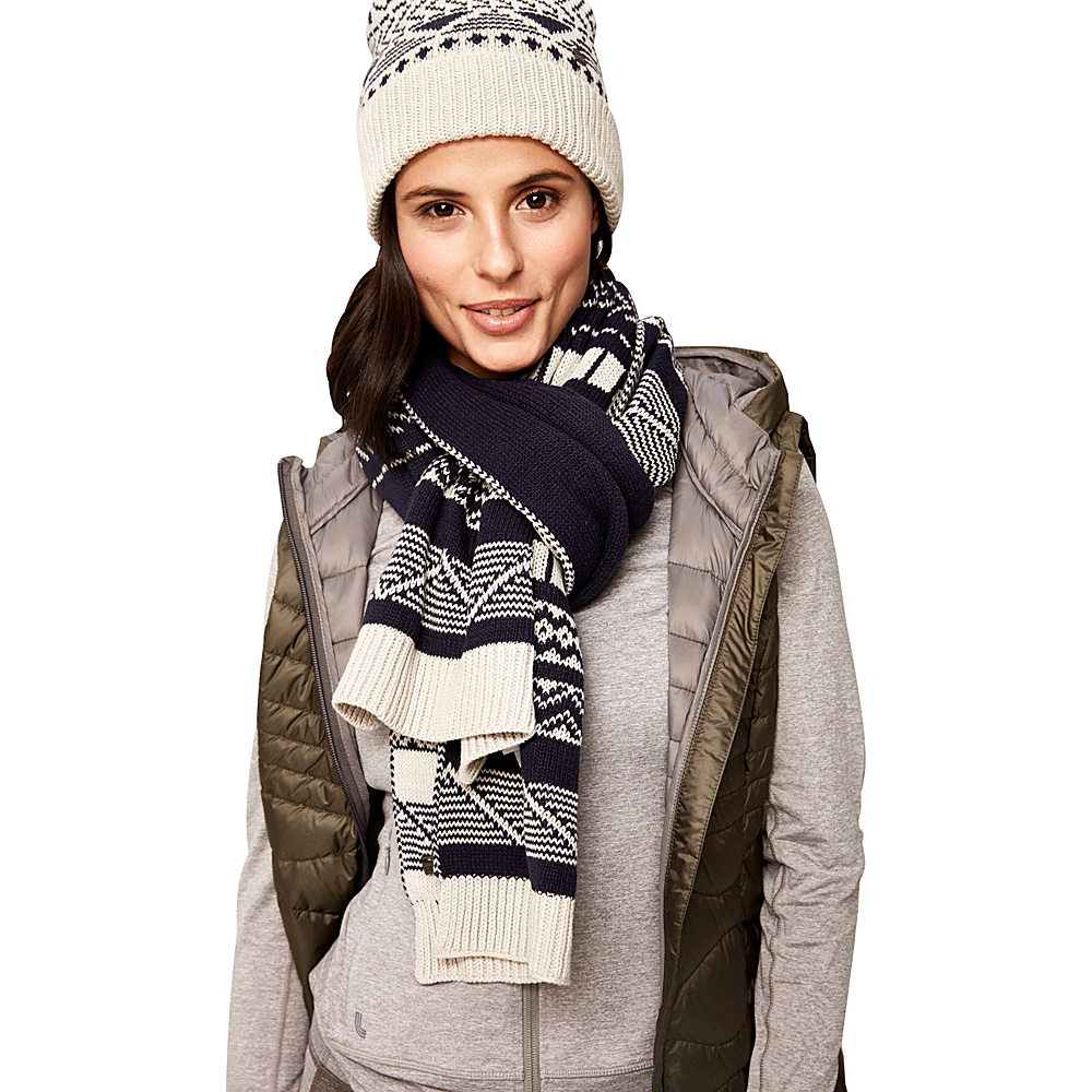 Lole Jacquard Knit Scarf Antarctica - Lole Hats/Gloves/Scarves - Fashion Accessories, Hats/Gloves/Scarves