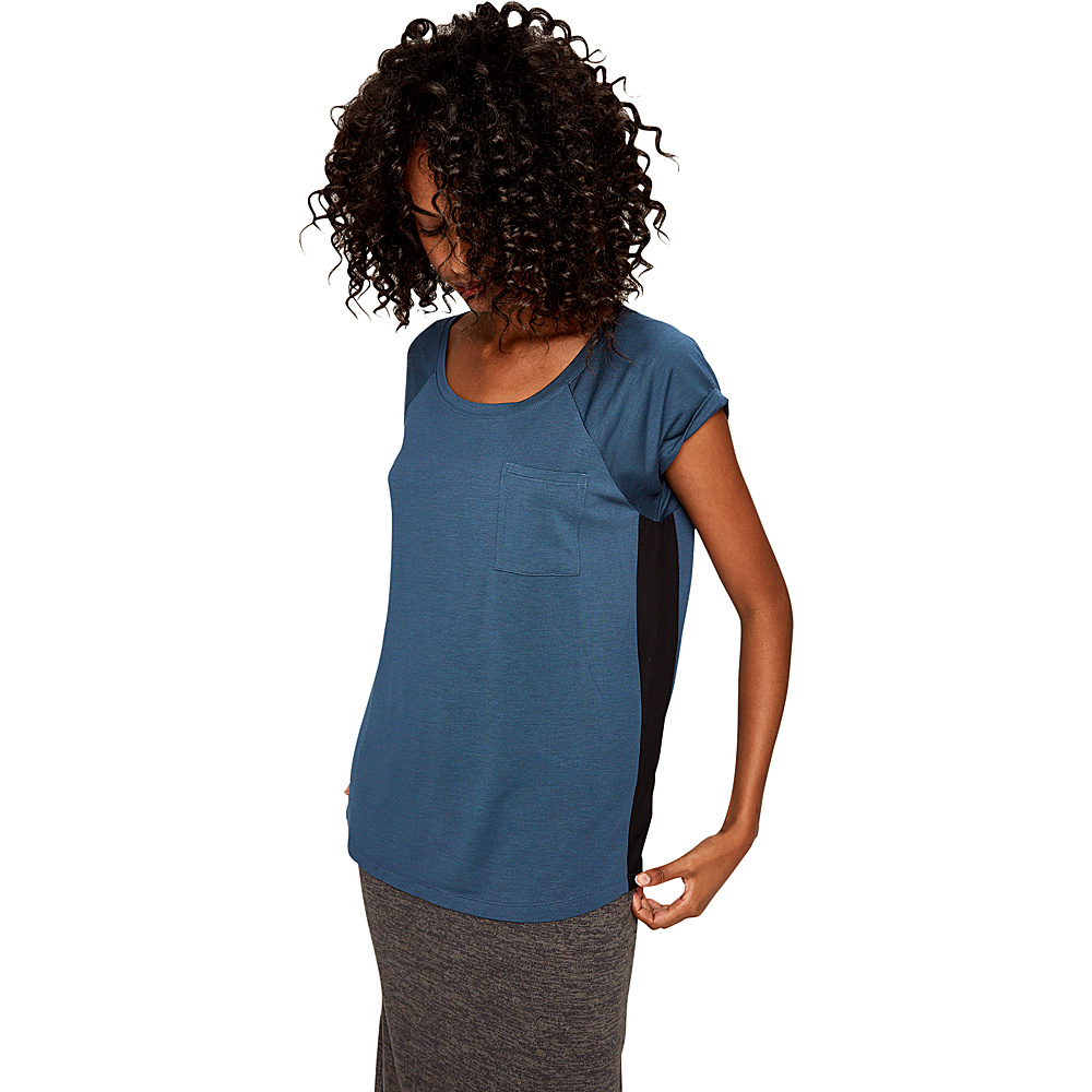 Lole Abba Top XS - Indigo Heather - Lole Womens Apparel - Apparel & Footwear, Women's Apparel