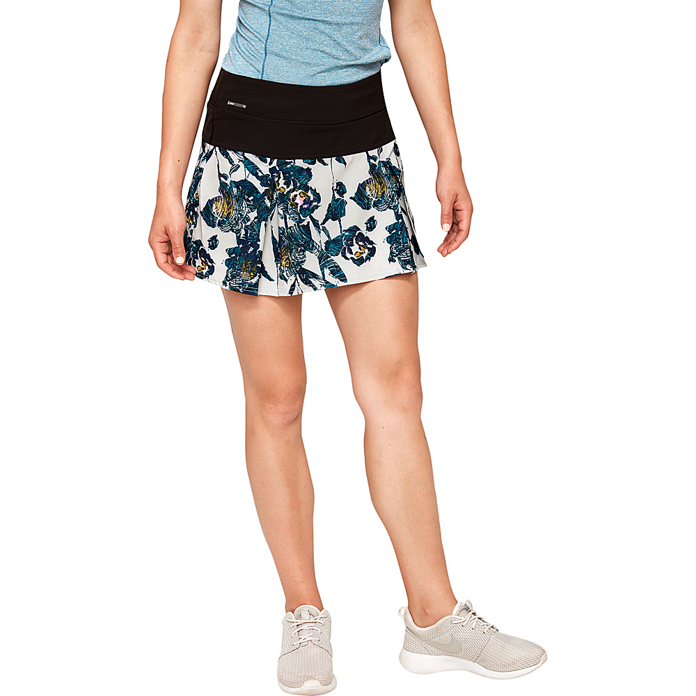 Lole Justine Skort M - Arctic Ice Flowery Vines - Lole Womens Apparel - Apparel & Footwear, Women's Apparel