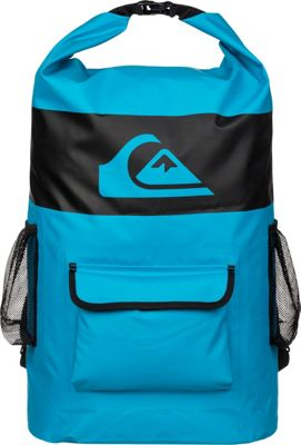 Quiksilver Sea Stash Roll-Top Surf Backpack Hawaiian Ocean - Quiksilver Skate and Surf Bags