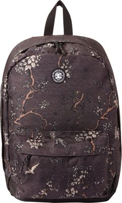 DC Shoes Men's Backstack Print 18.5L Medium Laptop Backpack Black Autumn Charms - DC Shoes Laptop Backpacks