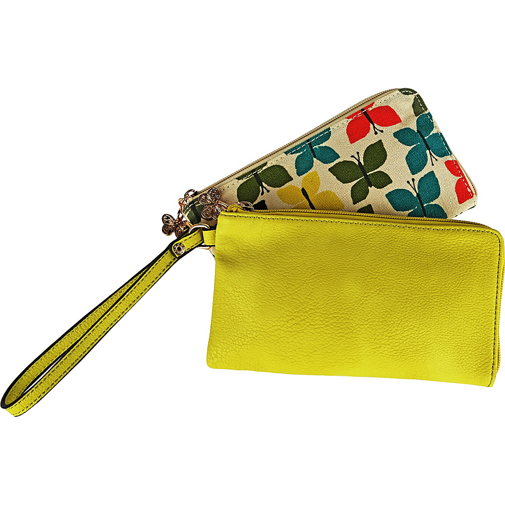 MKF Collection by Mia K. Farrow Tropical Breeze Wristlet Wallet Butterfly - MKF Collection by Mia K. Farrow Womens Wallets - Women's SLG, Women's Wallets
