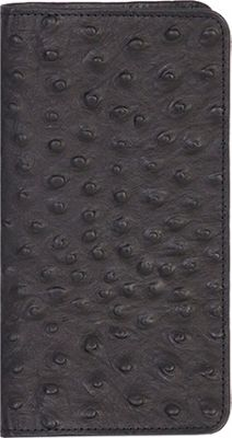 Scully Ostrich Embossed Leather Pocket Telephone / Addres...