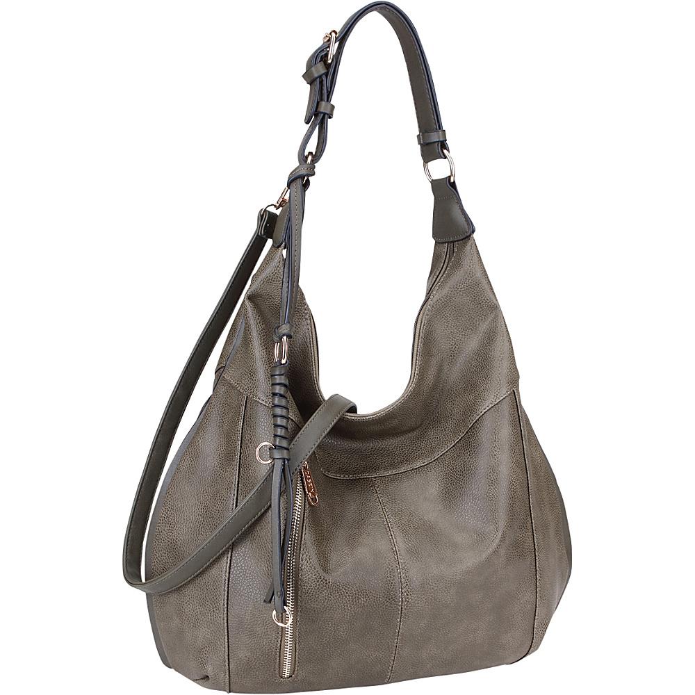 Dasein Vintage Convertible Hobo Army Green - Dasein Manmade Handbags - Handbags, Manmade Handbags