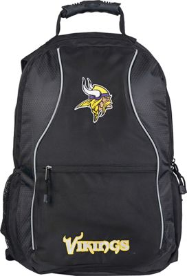 NFL NFL Phenom Laptop Backpack Black - NFL Everyday Backpacks