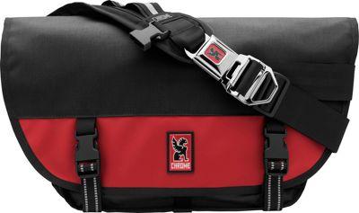 Chrome Industries Mini Metro Messenger Black/Red - Chrome Industries Messenger Bags