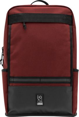 Chrome Industries Hondo Laptop Backpack Brick/Black - Chrome Industries Business & Laptop Backpacks