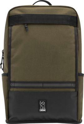 Chrome Industries Hondo Laptop Backpack Ranger/Black - Chrome Industries Business & Laptop Backpacks