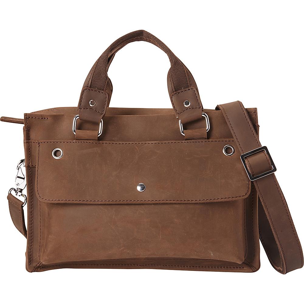 Vagabond Traveler Hand Lift Slim Messenger Bag Distress - Vagabond Traveler Messenger Bags - Work Bags & Briefcases, Messenger Bags