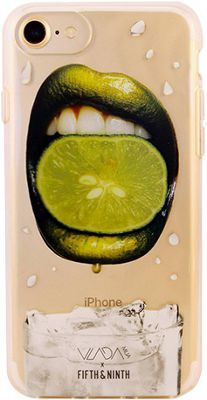 Fifth & Ninth iPhone 7 Slim Impact Resistant Bumper Case Squeezed Lime - Fifth & Ninth Electronic Cases